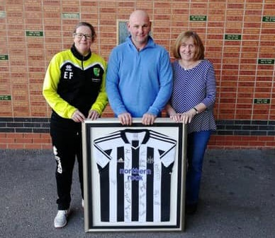 Newcastle Shirt Winner