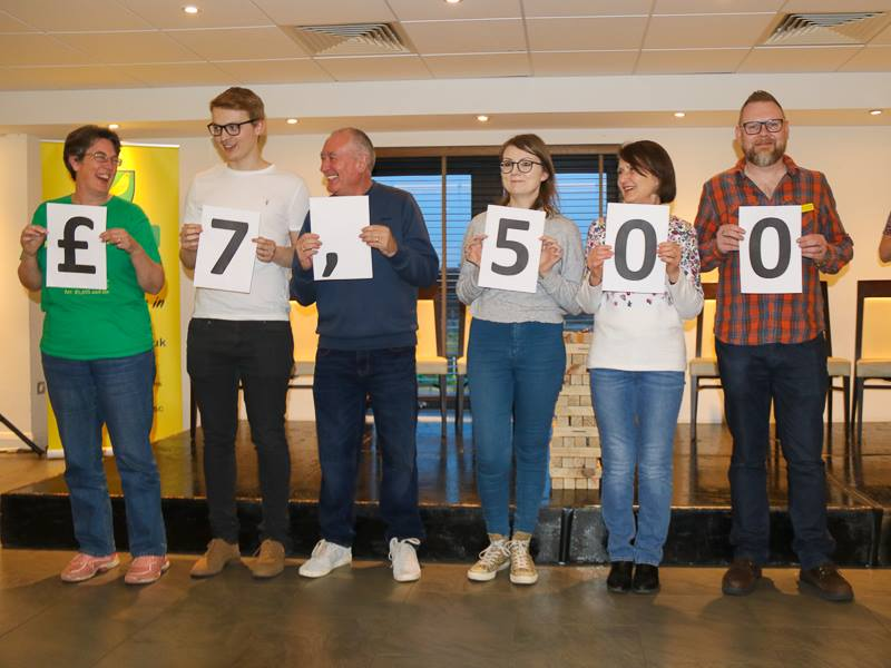 NCFSC Total Raised £7,500