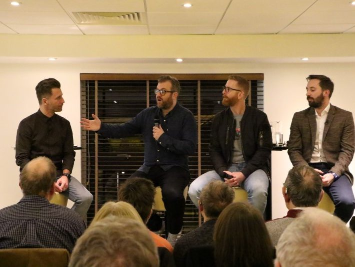 Darren Eadie, Rob Butler, Iwan Roberts and Michael Bailey