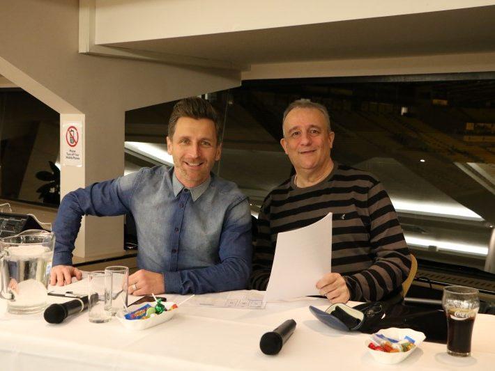 Darren Eadie and Eddie