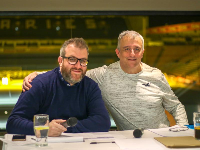 Quiz Night Rob Butler and Eddie