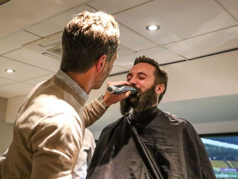 Michael Bailey Beard Trim by Darren Eadie