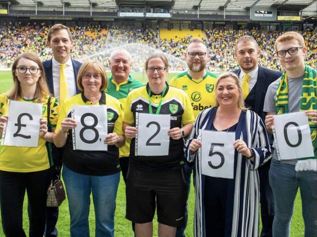 NCFSC Raise £8,250